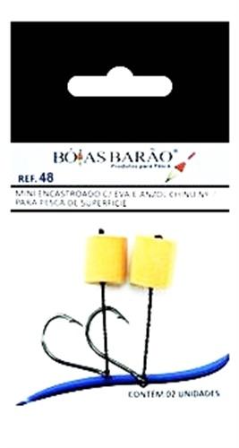 Mini Encastroado Barão com EVA Chinu 048 c/ 02 un.