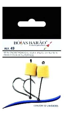 Mini Encastroado Barão com EVA Chinu 049 c/ 02 un.