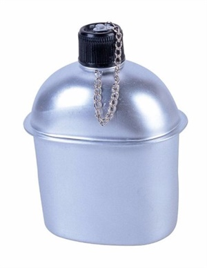 Cantil Alumínio Nautika 0,9 Litro c/ 01 un.