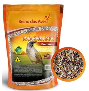 Ração Reino das Aves Boiadeiro Mineral Mix 500 gr c/ 01 un.