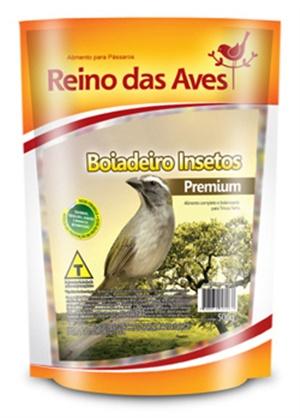 Ração Reino das Aves Boiadeiro Insetos 500 gr c/ 01 un.