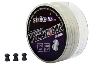 Chumbinho Technogun Strike 5,5mm. c/ 125un.