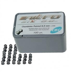 Chumbinho CBC Nitro 6.0mm c/ 100un.