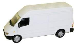 MB SPRINTER VAN BRANCA MODEL POWER MINIS