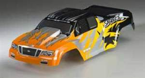 NITRO GT-2 TRUCK PAINTED BODY(BLK /ORG /YEL /SILVER) HPI