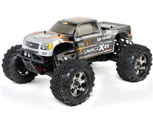 AUTOMODELO A COMBUSTAO OFF-ROAD SAVAGE X4.6 HPI