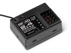 RECEPTOR RF-40 DO RADIO 2.4GHZ 3 CANAIS HPI