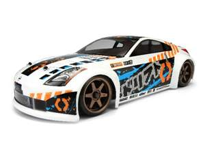 AUTOMODELO ON-ROAD RTR SPRINT 2 DRIFT NISSAN 350Z, 1/10, COM RADIO 2.4GHZ, MONTADO HPI