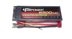 BATERIA DE LIPO 6500MAH 7.4 V,60C DE DESCARGA HC LPB