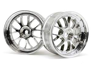 LP29 LM-R WHEEL CHROME 2pcs HPI