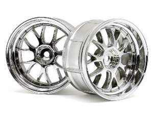 LP32 LM-R WHEEL CHROME 2pcs HPI