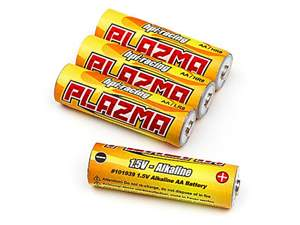 BATERIA ALCALINA AA PLAZMA1.5 4PCS HPI