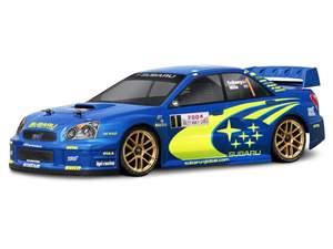 BOLHA 2004 SUBARU IMPRESA WRC 190MM ESCALA 1/10 HPI