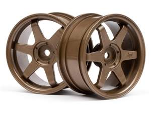RODA TE37 BRONZE 26MM (3MM OFF SET) HPI