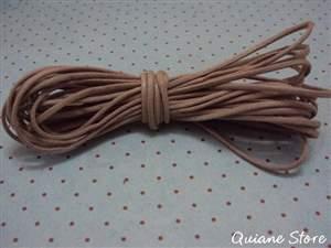 Rolo 5 metros Fio Encerado Médio 100% algodão Cor: Castor