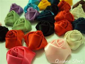 Kit 25 Rosas de Cetim