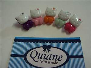 Kit Sortido 10 Botões da Hello Kitty
