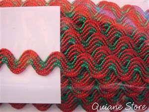 Sianinha Vermelho/Verde Esmeralda