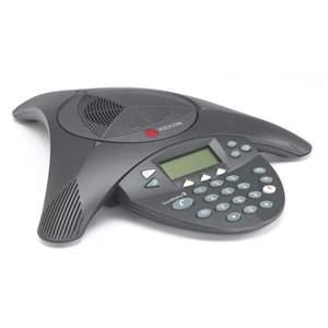 Telefone Polycom Audioconferencia SoundStation2W Expansível