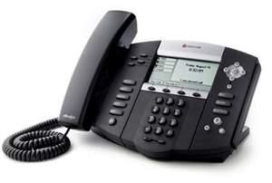 Telefone Polycom SoundPoint IP 550