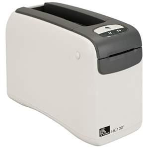 Impressora de Pulseira Zebra HC100 300dpi, USB e Serial