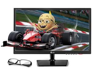 Monitor LG 23 LED 3D FULL HD