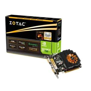 Placa de Vídeo GeForce Zotac GT 730 4GB