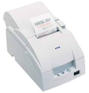 Impressora Não Fical Mini Matricial Epson TM-U220PD Paralela