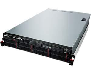 Servidor Lenovo RD640 Intel E5-2620V2, 8GB, 1x300GB SAS, 2 Fontes Redundantes