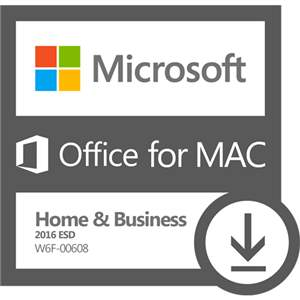 Office for Mac Home & Business 2016 - ESD