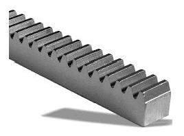 Cremalheira Modulo 1.0 - 15x15x2000mm em Aço 1045