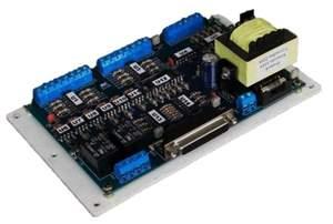 Placa Isoladora Amplificadora Porta Paralela - 5 Driver´s - Fonte Integrada