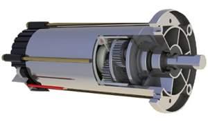 Motorredutor Planetário 500Kgf - 90RPM´s com Controlador RPMs
