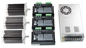 Kit Eletrônica CNC - 3 Eixos - NEMA23 de 30Kgf.cm