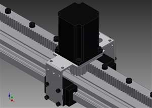 Cabeçote para Sistema Linear ( NEMA 23 )