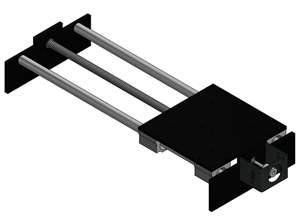 Sistema Linear - Eixo Cartesiano XYZ CNC - NEMA23