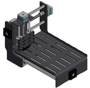 Router Baby CNC - Completa - Usina Aço