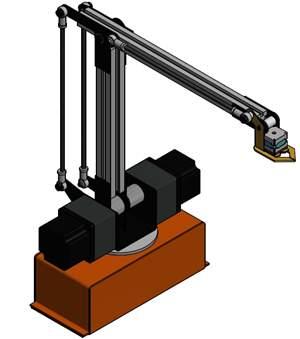 Robo Paletizador - Laboratório ou Educacional