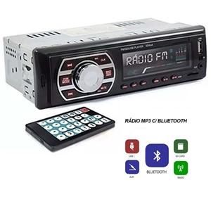 APARELHO M-SEVEN MP3 - RÁDIO FM, ENTRADAS USB, SD, AUX E BT.