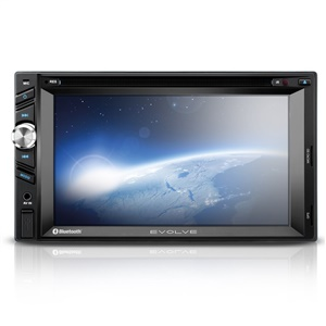 CENTRAL MULTIMÍDIA MULTILASER 2 DIN EVOLVE COM GPS E TV TELA 6.2 USB SD AUX E BLUETOOTH