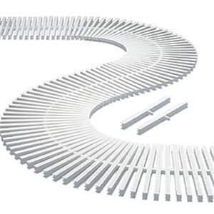 Grelha Plástica Flexível De 15 Cm